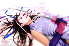 Lily - Anime Geisha Warrior - Photos Copyright - Lon Casler Bixby - All Rights Reserved - Makeup by Justefanie