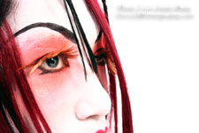 Shianxiu - Anime Geisha - Photos Copyright - Lon Casler Bixby - All Rights Reserved - Makeup by Justefanie