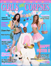 Girls and Corpses - www.girlsandcorpses.com - Special Easter Edition
