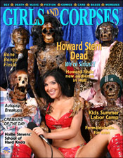 Girls and Corpses - www.girlsandcorpses.com - Issue 8 - Howard Sternum